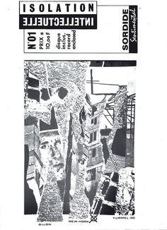 ISOLATION INTELLECTUELLE n°1 - (cover : Jean-Pierre TURMEL)