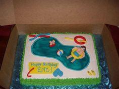 Free Swimming Pool Cake On Cake Central.