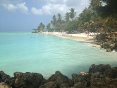 Pigeon Point Beach in Crown Point, Tobago
