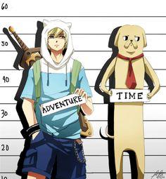 Hora de aventura (Un poco de la historia y sus personajes)
