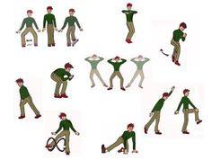 Skigymnastik: Neun Übungen