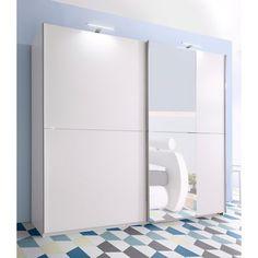 1000 ideas about armoire porte coulissante on pinterest armoire purse hol - Armoire penderie portes coulissantes miroir ...