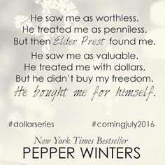 The Romance Cover: New Teasers ~ Pennies by Pepper Winters