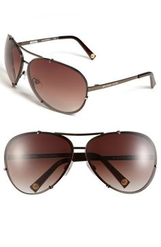 MICHAEL Michael Kors 'Stella' Aviator Sunglasses available at #Nordstrom
