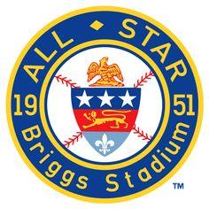 1951 MLB All-Star Game at Briggs Stadium in Detroit, Michigan