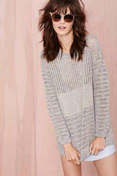 Nasty Gal Wicked Stitch Sweater