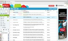 AOL redoes mail