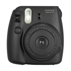 Fujifilm instax mini 8 Instant Film Camera Black ($70) ❤ liked on Polyvore featuring fillers, camera, tech, accessories and - fillers