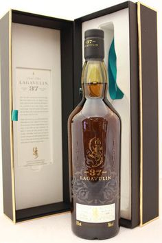 Lagavulin 37 Year Old Special Release 2013 Single Malt Scotch.for when Nat turns Whisky Whiskey Or Whisky, Whisky Club, Single Malt Whisky, Scotch Whiskey, Whiskey Bottle, Fun Drinks Alcohol, Wine Drinks, Alcoholic Drinks, Beverages