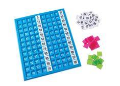 120 Hundred Board & Number Tiles
