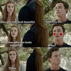 Teen Wolf ships Marrish & Stydia
