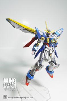 HGAC 1/144 XXXG-01W Wing Gundam custom paint by Putra Shining PUTAROGUNPLA