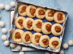 Get this all-star, easy-to-follow Apple Pie Thumbprint Cookies recipe from Food Network Kitchen