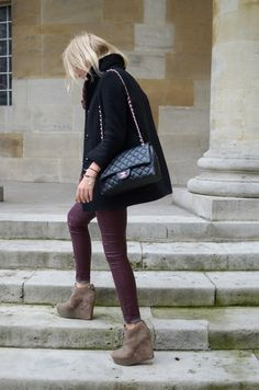 skinnies and chanel