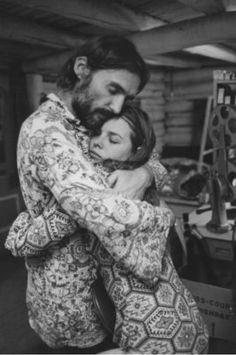 Dennis Hopper & Michelle Phillips, 1970
