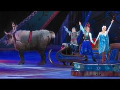 """Frozen"" makes Disney On Ice debut, retelling hit film through songs, skating, special effects with favorite characters 