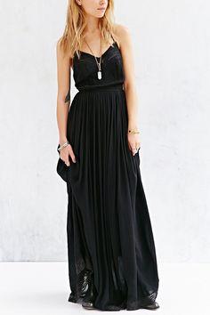 Kimchi Blue Dove Crinkle Gauze Maxi Dress - Urban Outfitters