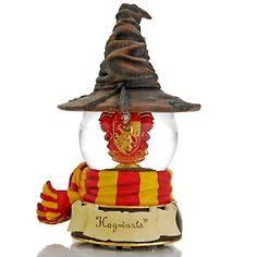 "The San Francisco Music Box Company Harry Potter™ ""Gryffindor Sorting Hat"" Water Globe at HSN.com"