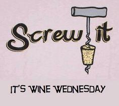 Love wine Wednesday!!