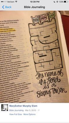 MS woman's journaling Bible illustrations goes viral - FOX Carolina 21 Scripture Doodle, Scripture Study, Bible Art, Bible Verses, Bible Notes, Bible Drawing, Bible Doodling, Bibel Journal, Bible Study Journal
