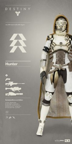 WorldOf3A | Destiny Hunter Bambaland Store Exclusive Edition...