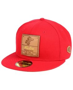 New Era Cincinnati Reds Vintage Team Color 59FIFTY Fitted Cap - Red 7 1 8 49f894f591b