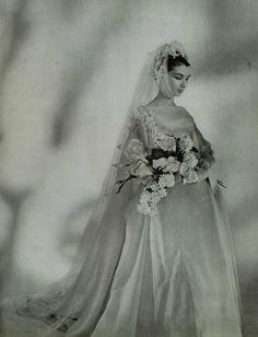 1958 Lanvin wedding dress