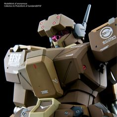 GUNDAM GUY: HGUC 1/144 RGM-89De Jegan (ECOAS Type) - Customized Build