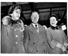 HRH Princess Mary, Princess Royal and Countess of Harewood, HRH The Prince Edward, Duke of Windsor (formerly HM King Edward VIII) and Wallis, Duchess of Windsor