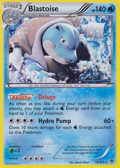 Blastoise (Cosmo Holo) - Blister Exclusives, Pokemon - Online Gaming Store for Cards, Miniatures, Singles, Packs & Booster Boxes Cool Pokemon Cards, Rare Pokemon Cards, Pokemon Trading Card, Pokemon Stuff, Pokemon Deck, Pokemon Room, Pokemon Blastoise, Charizard, Pokemon Online