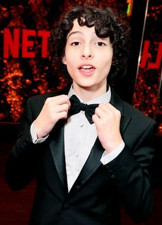 Finn Wolfhard seen at Netflix Primetime Emmys Party at NeueHouse in Los Angeles, CA on September 17, 2017