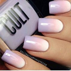 The ombre trend initially blew up in the manicure world before it was popular in hair dying and clothing. - See more at: http://www.quinceanera.com/decorations-themes/ombre-quinceanera-ideas/#sthash.FO6y7Tx1.dpuf