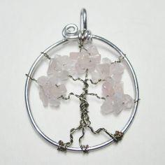 tree of life necklacewire wrapped jewelry by WireWrapJewels, $19.75