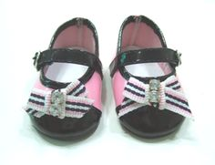 Black and Pink Dress Shoes