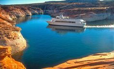 Lake Powell and Glen Canyon National Recreation Area Arizona Road Trip, Lake Powell Houseboat, Places To Travel, Places To See, Travel Destinations, Houseboat Rentals, Family Vacation Spots, Seen, Dream Vacations