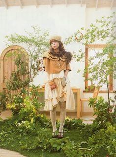 Mori girl fall / winter style inspiration