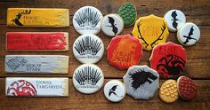 cookie-cowgirl | G.O.T.! Who's watching? Game of Thrones cookie