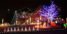 Outdoor Christmas Lights Ideas for Roof and Yard