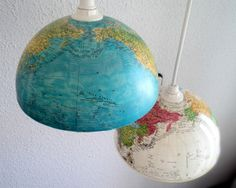 lámpara bola del mundoluniqueblog