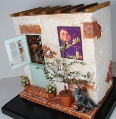 Perfume Uk, Miniature Furniture, Small World, Shadow Box, Vignettes, Dollhouse Miniatures, The Incredibles, Shapes, Dolls