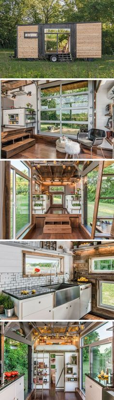 The Alpha tiny house by New Frontier Tiny Homes.