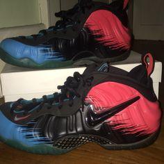 reputable site fd625 5d5f1 Nike Shoes   Air Foamposite Pro Prm Spider-Mans   Color  Blue Red   Size   10.5