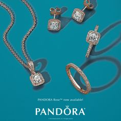 Make an impression with hand-finished PANDORA Rose™. Now available! #DOEnchant