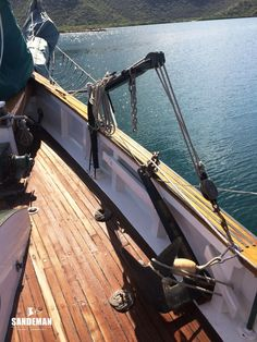 60 FT JOHN ALDEN GAFF DOUBLE TOPSAIL SCHOONER 1939/1946 - Sandeman Yacht Company Anchor Systems, House Deck, House Siding, Dinghy, Water Tank, Bath Caddy, Sailing, Ships, Travel