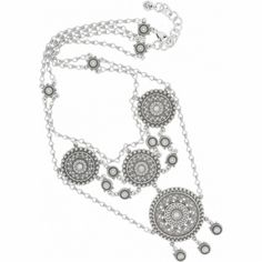 Abu Lace Necklace  available at #Brighton One of my favorites...