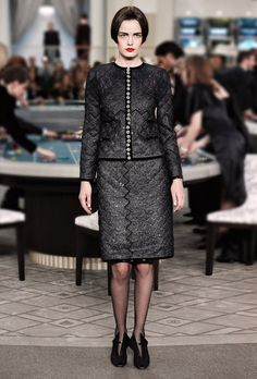 Fall-Winter 2015/16 Haute Couture - Look 07 - CHANEL