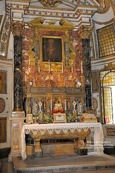 CHAPEL OF THE PALAZZO ALTEMPS IN ROME