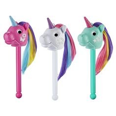 Educational Insights Rainbow Prancers Puppet-on-a-Stick, Box Of 3 >>> Check out this great product. Pretend Play Kitchen, Play Kitchen Sets, Puppet Show, Time Kids, Thing 1, Imaginative Play, Unicorn Birthday, Gifts For Girls, Twinkle Twinkle