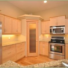 Full Height Corner Pantry Cabinet