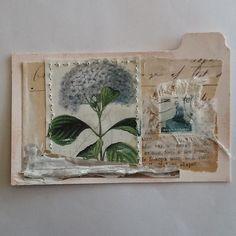 Tina Jensen Art Studio - Textile and Collage work. Art Journal Pages, Journal Cards, Junk Journal, Atc Cards, Card Tags, Mixed Media Journal, Mixed Media Collage, Paper Collage Art, Paper Art